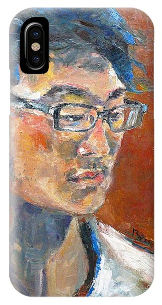 My Son iPhone Case - My Son by Becky Kim
