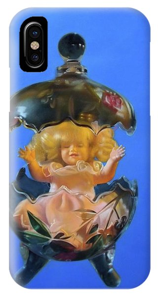 Fantasy Realistic Still Life iPhone Case - My Special Person by Weiyu Xia
