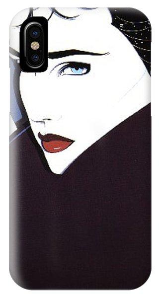 iPhone Case - nagel005 Patrick Nagel by Eloisa Mannion