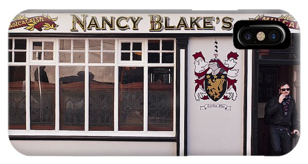 Nancy Blake's Irish Pub IPhone Case