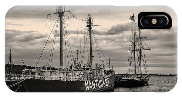 Nantucket Lightship IPhone Case
