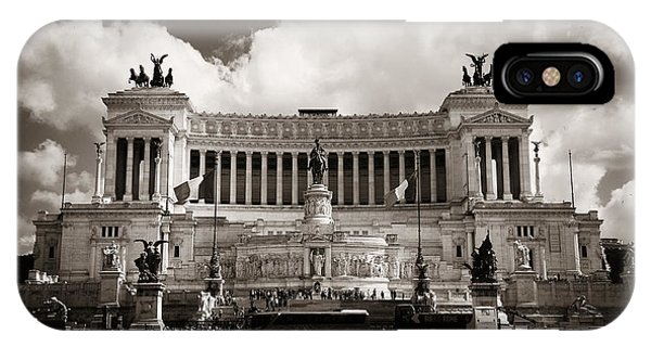 National Monument To Victor Emmanuel II  Phone Case by Songquan Deng