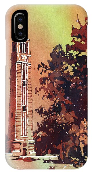Ncsu Bell-tower IPhone Case