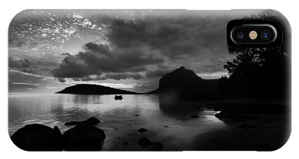 IPhone Case featuring the photograph Near Le Morne by Julian Cook