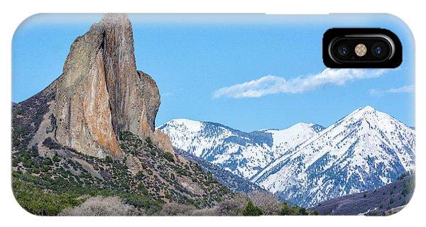 Needle Rock IPhone Case