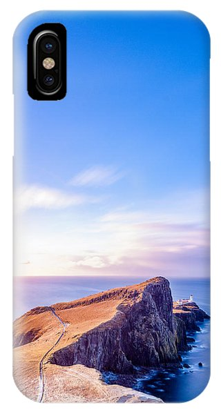 Neist Point Lighthouse At Dawn IPhone Case