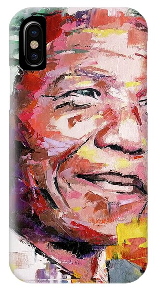 Different iPhone Case - Nelson Mandela by Richard Day