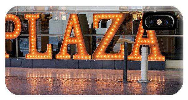 Neon Plaza IPhone Case