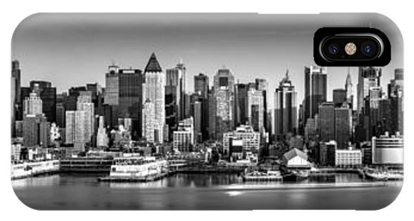 New York City Panorama IPhone Case