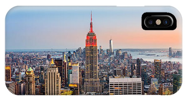 New York Skyline Panorama IPhone Case