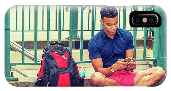 New York Subway Station IPhone Case