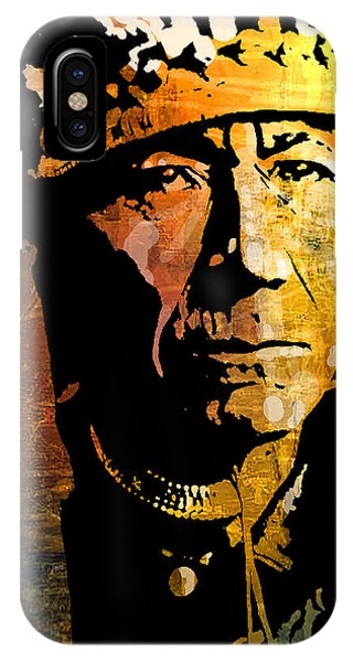Nez Perce Chief IPhone Case