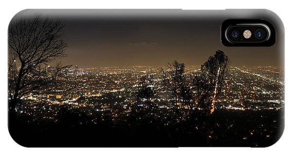 Night At Griffeth Observatory IPhone Case