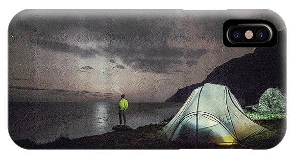 Night Gazer IPhone Case