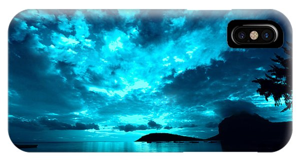 IPhone Case featuring the photograph Nightfall by Julian Cook