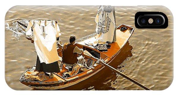 Nile River Merchants IPhone Case