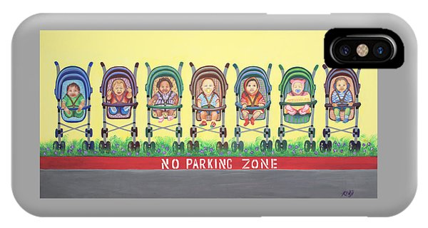 No Parking Zone IPhone Case