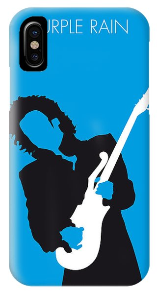 No009 My Prince Minimal Music Poster IPhone Case