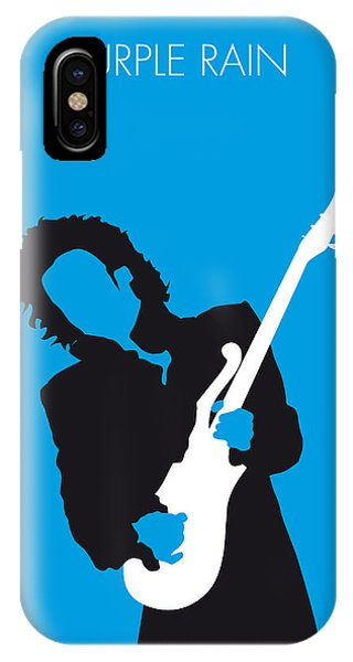 Purple iPhone Case - No009 My Prince Minimal Music Poster by Chungkong Art