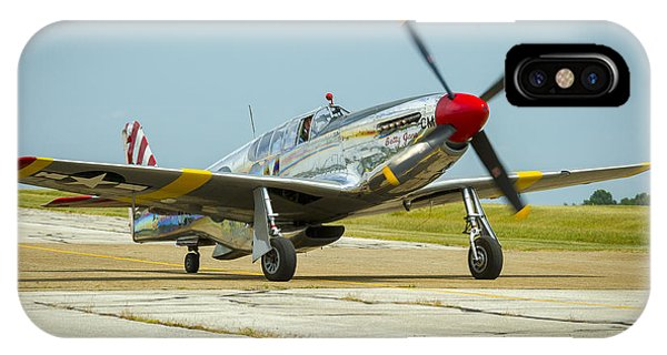 North American Tp-51c Mustang IPhone Case