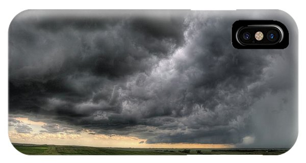 North Dakota Thunderstorm IPhone Case