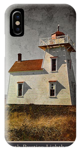 North Rustico Lighthouse IPhone Case