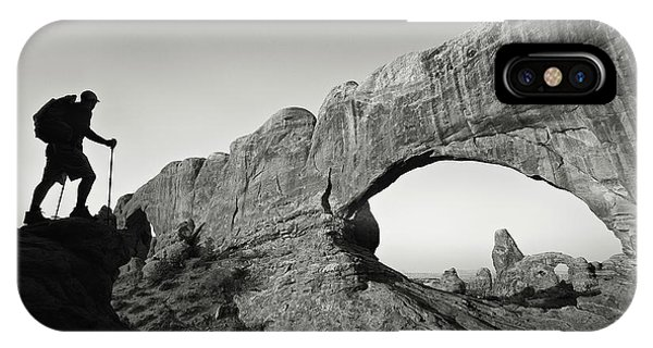 North Window Arch IPhone Case
