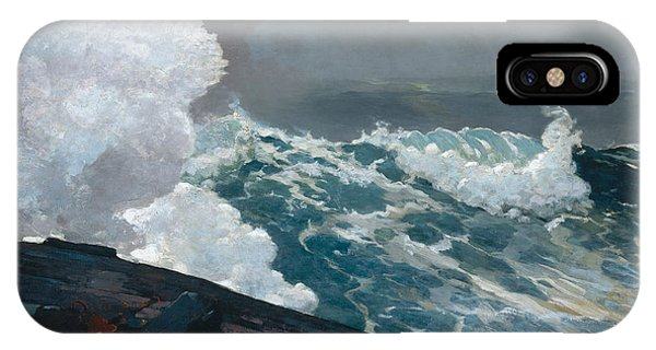 1895 iPhone Case - Northeaster, 1895 by Winslow Homer