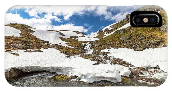 Norway Mountain Landscape IPhone Case