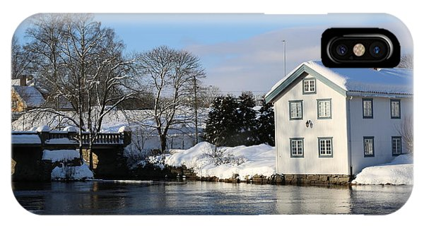 Norwegian Winter Landscape  IPhone Case
