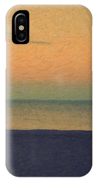 Pop Art iPhone Case - Not Quite Rothko - Breezy Twilight by Serge Averbukh