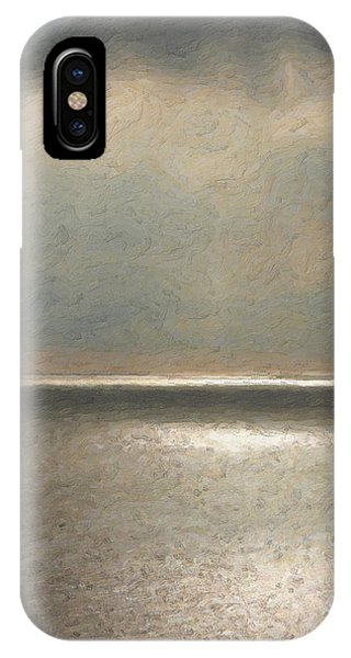 Pop Art iPhone Case - Not Quite Rothko - Twilight Silver by Serge Averbukh