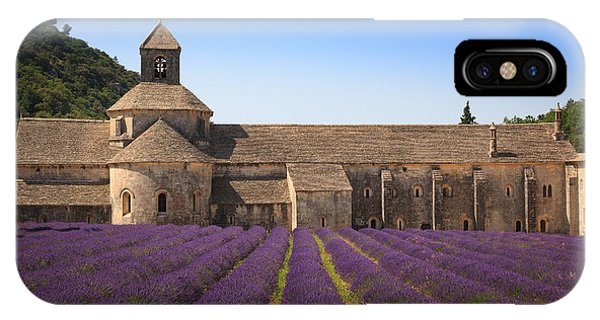 Notre-dame De Senanque  Abbey Provence France IPhone Case