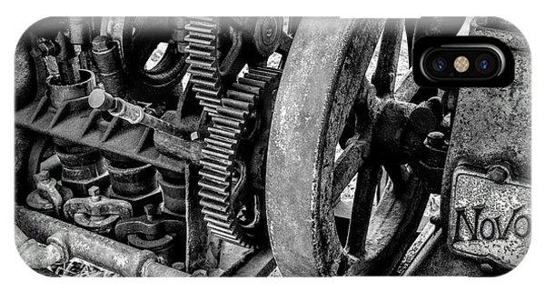 Novo Antique Gas Engine IPhone Case