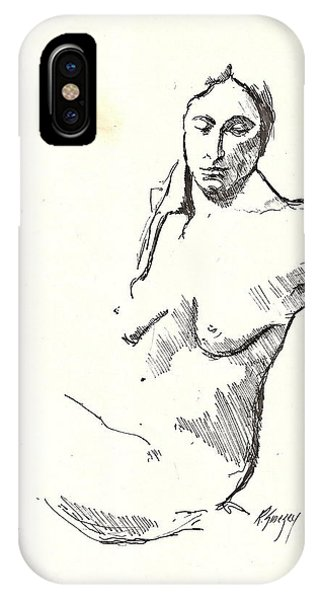 Nude Three IPhone Case