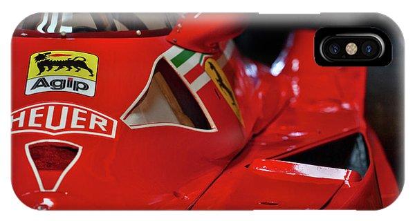 Number 11 By Niki Lauda #print IPhone Case