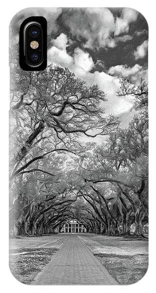 Oak Alley 7  IPhone Case