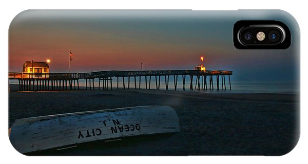 Ocean City  N J Sunrise IPhone Case