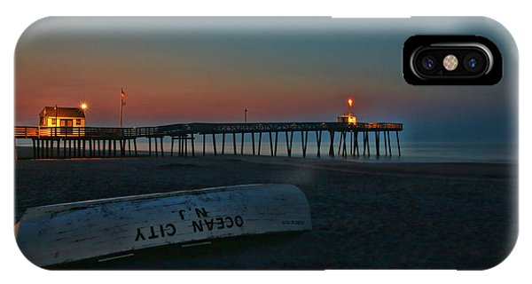 Ocean City  N J Sunrise IPhone Case