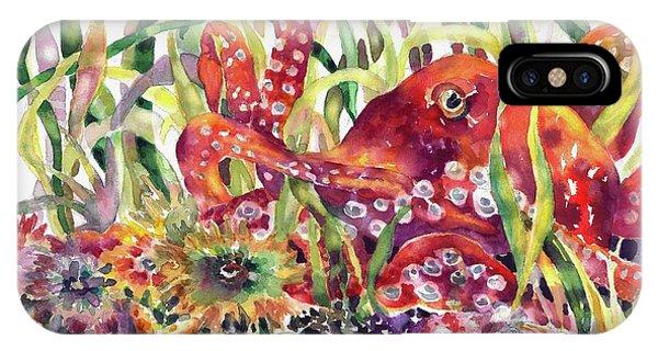 Octopus Garden IPhone Case