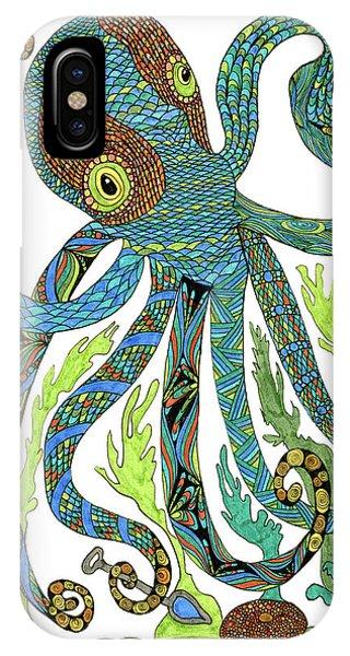 Octopus' Garden IPhone Case