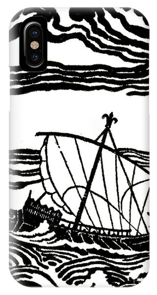 Odysseus's Ship IPhone Case