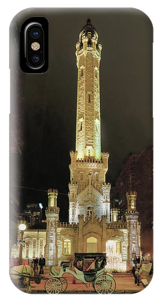 Old Chicago Water Tower IPhone Case
