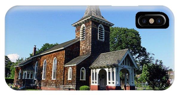 Old Grace Church Massapequa  IPhone Case