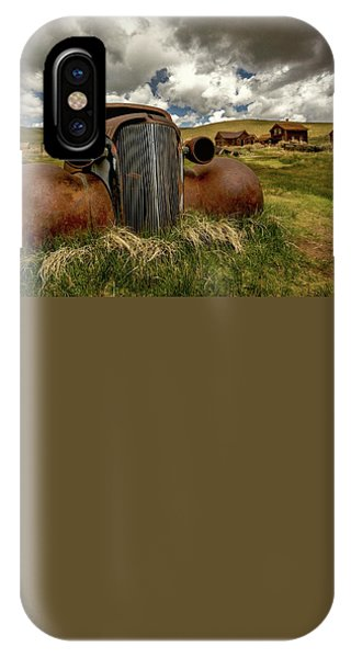 Old Jalopy Bodie State Park IPhone Case