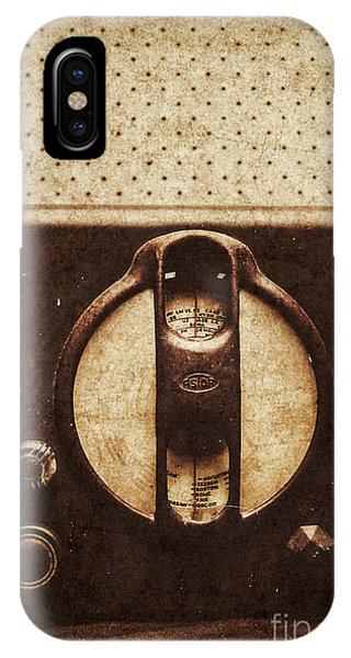 Past iPhone Case - Old Radio Nostalgia by Jorgo Photography - Wall Art Gallery