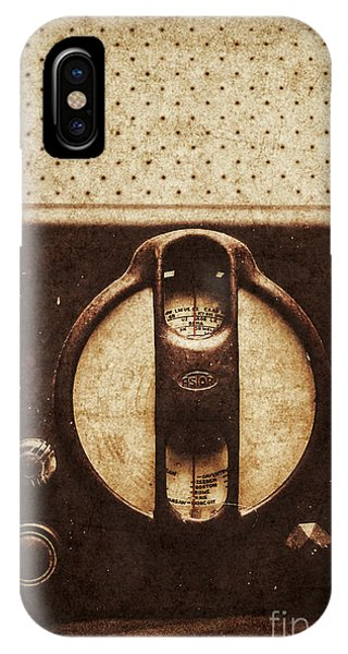 Technology iPhone Case - Old Radio Nostalgia by Jorgo Photography - Wall Art Gallery