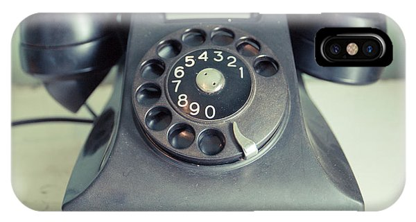 iPhone Case - Old Telephone Square by Edward Fielding