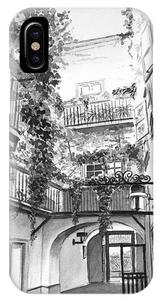 iPhone Case - Old Viennese Courtyard by Johannes Margreiter