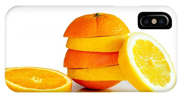 Orange Color iPhone Case - Oranje Lemon by Carlos Caetano